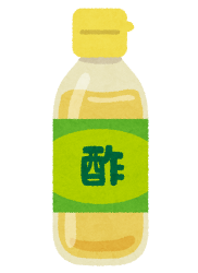 暑い時期のゴミの保管_酢