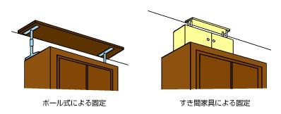 転倒防止_すき間家具
