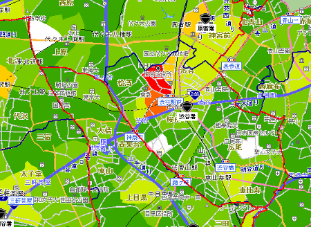 犯罪情報マップ(詳細)