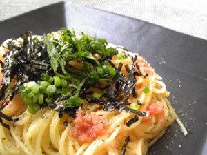 フライパンいらず簡単たらこスパゲティ
