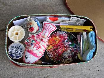 缶の利用法_裁縫箱