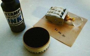 缶の利用方法_スタンプパッド