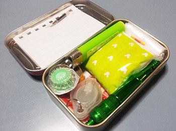 缶の利用方法_サバイバルキット