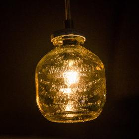 瓶の利用方法_ペンダントライト1