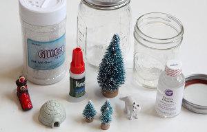 瓶の利用方法_スノードームレシピ1