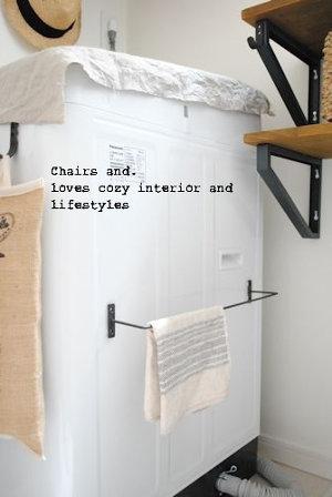 マグネットの利用方法_洗濯機にアイアンバー