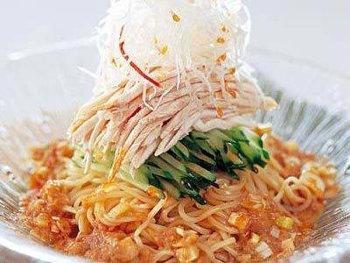夏バテ防止メニュー_棒棒鶏冷麺