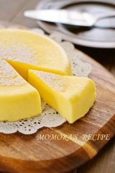 レンジで作るケーキ_チーズケーキ