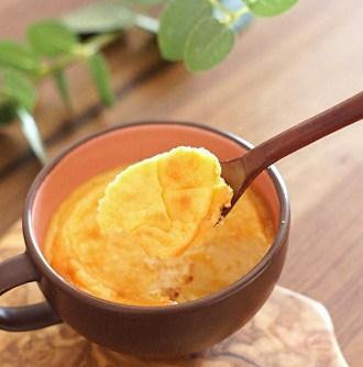レンジで作るケーキ_マグカップチーズケーキ