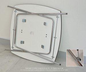 狭い部屋には折りたためる家具が便利_シャミドテーブル