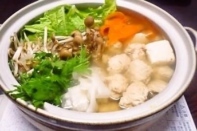 一人暮らしの強い味方の栄養満点鍋料理